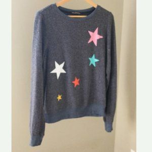 Wildfox Star Scatter Brushed Knit Sweater Lounge